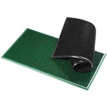 "Green Rectangular Doormat ""Millepunte"" PCV cm.40x70"
