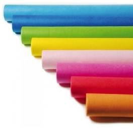Rolled Tablecloth Colored Paper cm.120x700