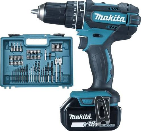 Cordless Drill 8V 13mm 62 Nm DHP482RFX1 Makita