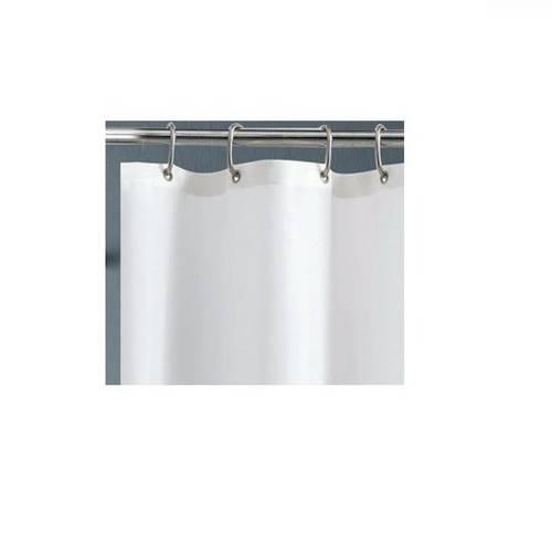 Shower Curtain in Fabric 180x200cm Maurer