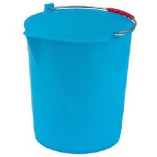 City Plastic bucket with blue handle ICS
