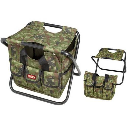 Folding chair with bag Camouflage 1457054 Valex