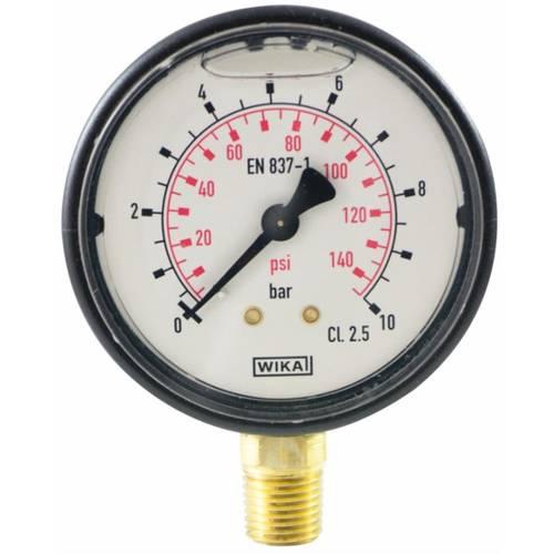 """Glycerin pressure gauge to 1/4 """""""