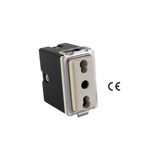 Basic 2P + E 16A 52400 Maurer Safety Dual Socket