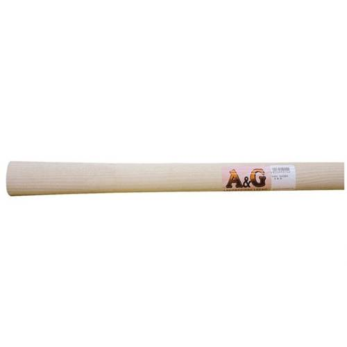 Oval Wooden Handle for Hoe 140 cm A&G