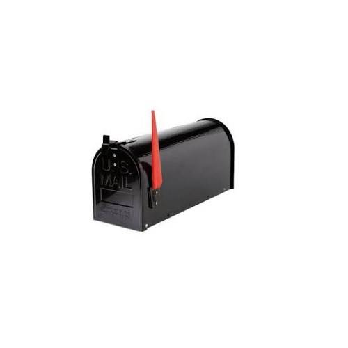 American USA Mailbox Black Mickey Mouse