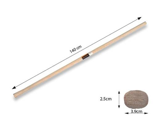 Woodpecker Oval Ash handle for Zappino 140 cm