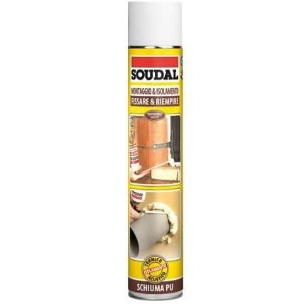 Universal Polyurethane Foam for Gun 750 ml Soudal 121511