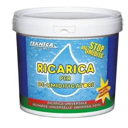 Reload salts for Dehumidifier Assorbello 2,5Kg Teknica