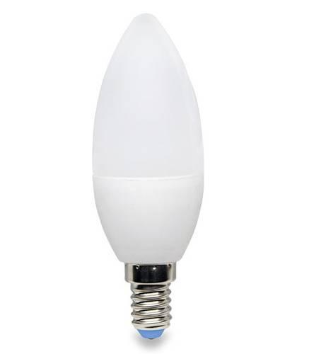 2 OLED E14 3000K 5W LED bulbs