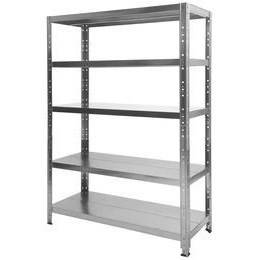 Shelf kit Arches 5 Galvanized shelves 100x40 cm
