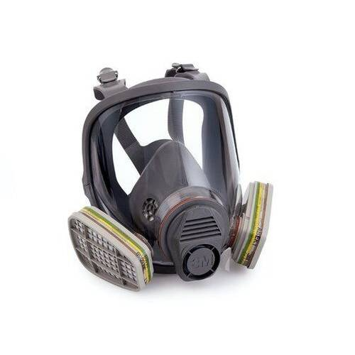 Full Face Mask Respirator with 6800 3M Valve