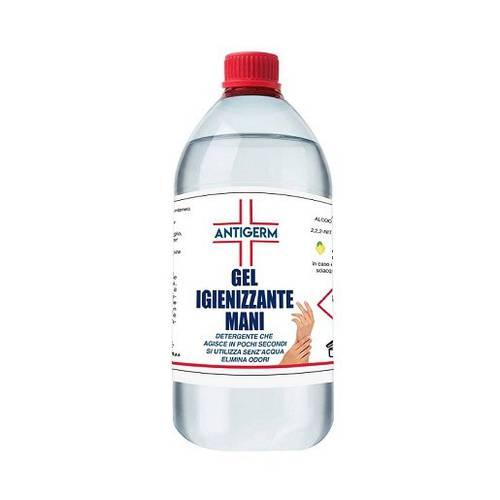 Hand Sanitizing Liquid Gel Disinfectant 70% Alcohol 1 Liter Antigerm