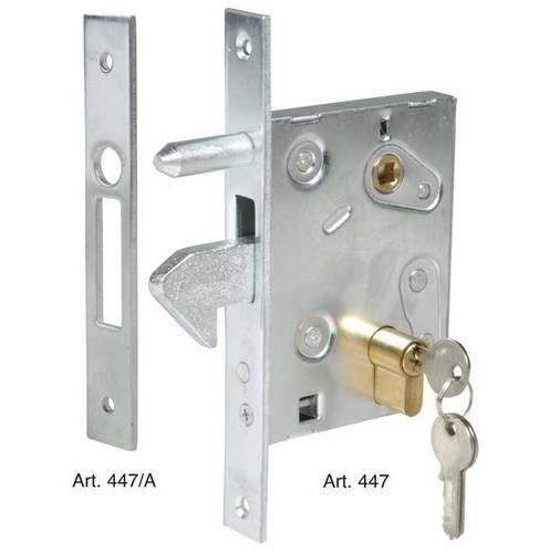 Hook lock for sliding gates Art. 447-447 / A IBFM