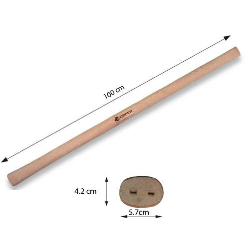 Pickaxe handle in Beechwood 4,2x5,7x100 cm Corfer