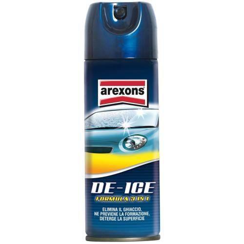 Deghiacciante Spray De-Ice ml.300 + Raschietto Arexons 8547