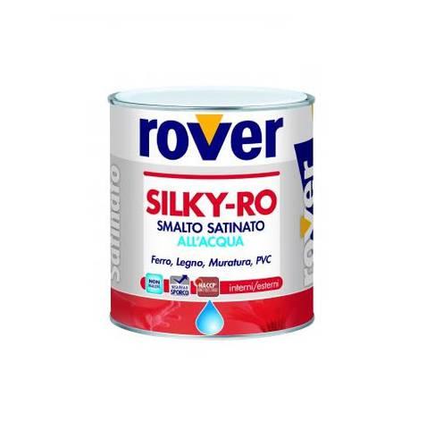 Silky Satin enamel to Water-Ro Black Rover