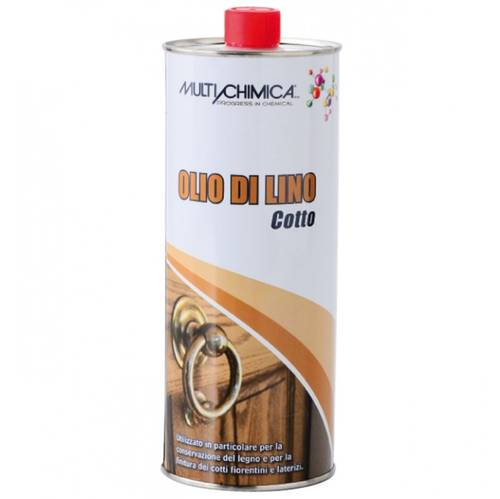 Linseed oil Cotto Lt.1 Multichimica