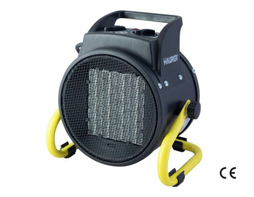 Electric Heater Ceramic Fan Heater 1000/2000 W Tortuga 51207 Maurer