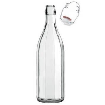 Ribbed Bottle 1 Litre