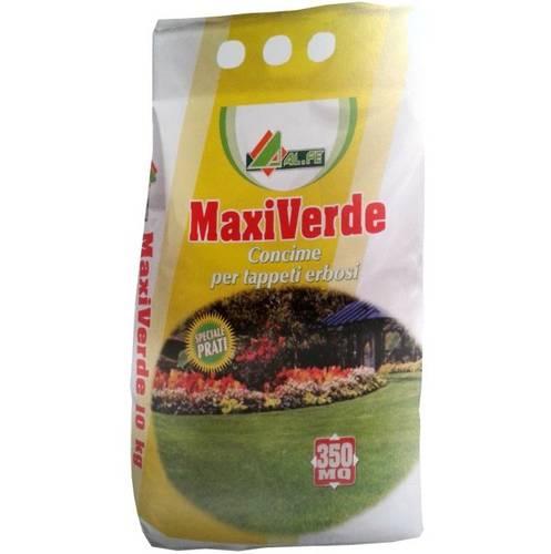 Fertilizer for Turfgrass MAXI GREEN 10 Kg Al.Fe