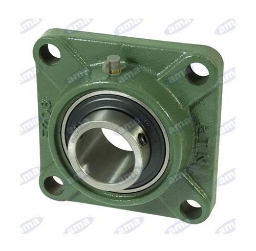 UCFL 208 Self-aligned Square Flange Support Bearing ø 40 mm 07463 Ama