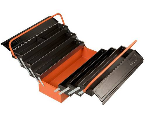 Tool Box Steel Tools 7 Compartments 1497MBF750 Bahco