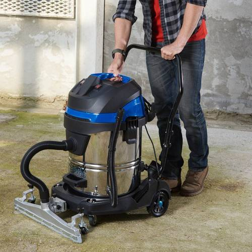 Vacuum Cleaner Solid and Liquid Vacuum Cleaner ASPIRIX 1200W 60Lt PRASP61LX2 Ribimex