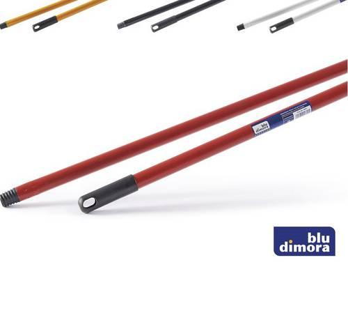 Metal Broom Handle 130 cm Blue Dimora
