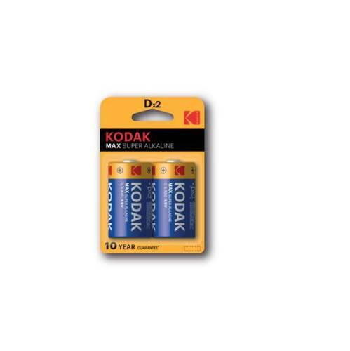 2 x Pile Batterie Torcia D 1,5V LR20 Alkaline Kodak