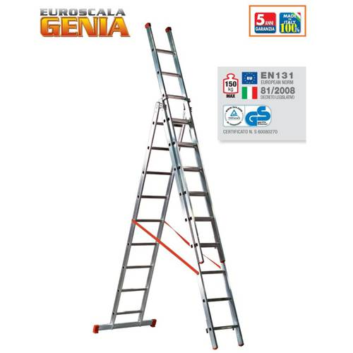 Scala Trasformabile Genia 3 Rampe G300-3 Word