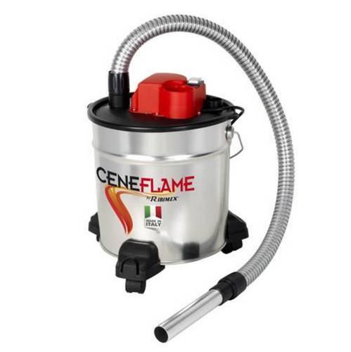 Bin Aspiracenere Ceneflame 18 Liters 1200W PRCEN007 Ribimex