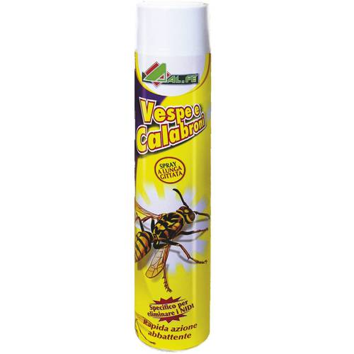 Insecticide Spray Wasps and Hornets Al.Fe 750 ml