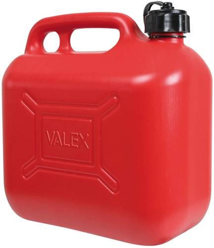 10 liter red polyethylene gasoline canister 1959860 Valex