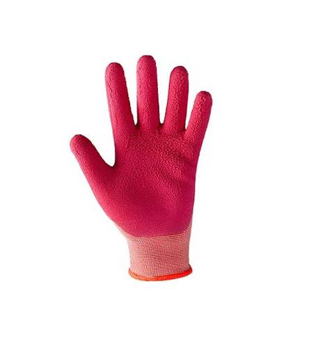 Continuous Thread Gloves 100% Nylon / Latex Tg.6 Shabu Kids Girl 355112 Boxer Line