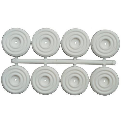 8 caps Rubbers Sottosedia ø20mm
