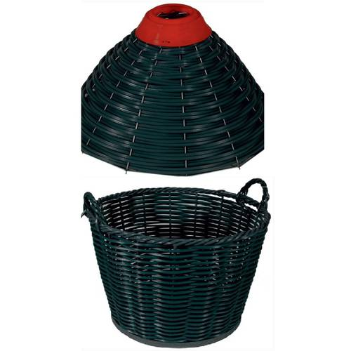 Basket + Dome Plastic Wire for Carboy