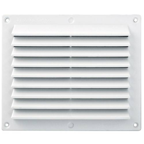 White ABS Ventilation Grill with Net