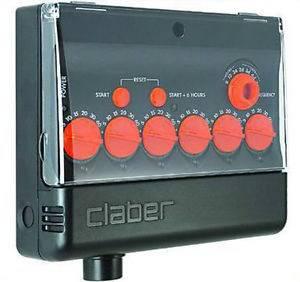 AC programmer Aquauno MULTIPLE Claber 8018
