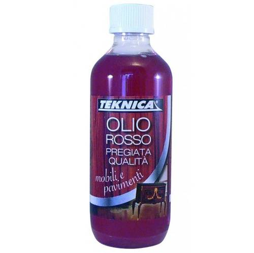 Red Oil for Furniture and Floor 200ml Teknica