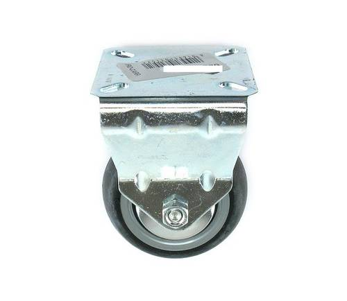 Rubber Wheel with Fixed Support Chrome Steel 622 Rocarr