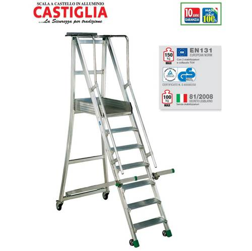 Scale castle with wheels Castilla CA4 / 175 Facal