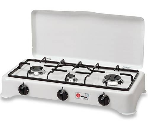 5-burner gas cooker 5327CGP Parker