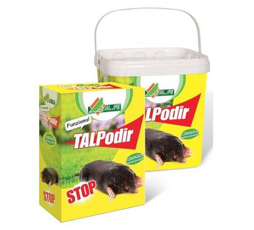 Disuse Repellent for Moles TALPodir Al.Fe