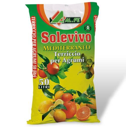 Soil for Citrus Solevivo Mediterranean 18 Liters Al.Fe