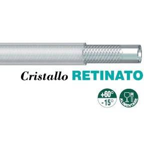 "PVC pipe ""Crystal"" Retained"