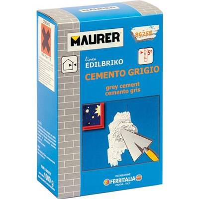 Concrete Grey Powder 1kg Maurer 86258