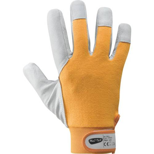 BALL Gloves in Flower / Cotton Leather 376050 Mac-Tuk