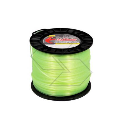 Round Line 3 mm for Brushcutter 248m 2kg DOUBLE STRONG R303592 Sabart