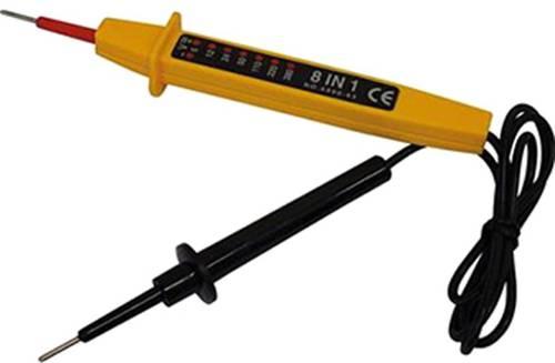 8 in 1 Pen Voltage Tester (6-400V) 093236 Maurer